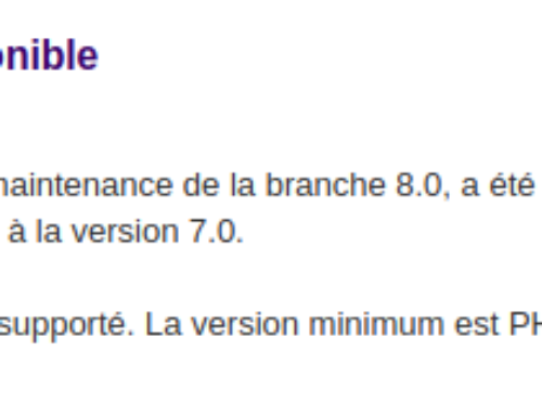 Dolibarr 8.0.3 maintenant disponible sur Ma Gestion Cloud !